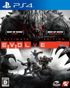 (メール便送料無料)(PS4)EVOLVE Ultimate Edition(新品)(取り寄せ)