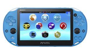 (PSVita)PlayStation Vita本体Wi-Fiモデル(アクア・ブルー)(PCH-2000ZA23)(メール便発送不可)(新品)(あす楽対応)