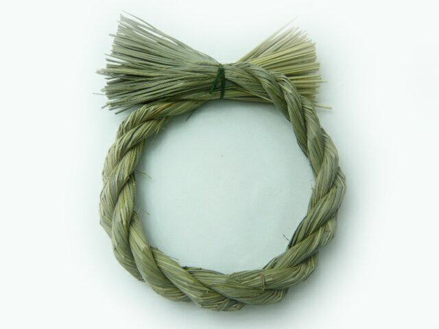 お正月飾り わら 水草リース 丸 3-1 迎春・飾り物・和小物