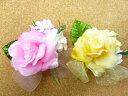 完成品旅立ちのバラ サテンローズ(1個)コサージュ 卒園式 卒業式 入学式 入園式 子供用
