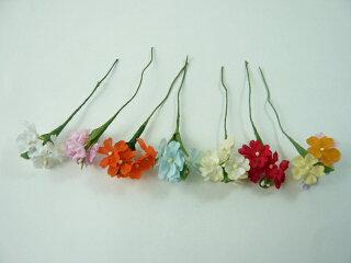 【アウトレット】造花ハイデリンジャー202ベタラッピングプレゼントやギフトにアートフラワーを添えて