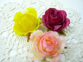 アウトレット造花 ソフトローズ中(1本) 小花 アートフラワー フェイクフラワー