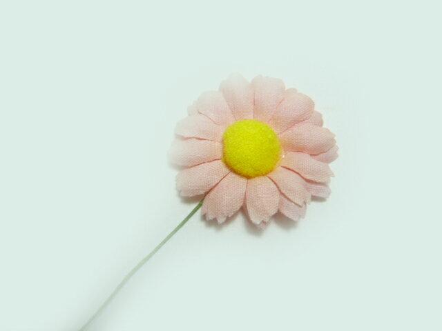 造花 サーモンピンクのデージー パーツ 小花・アートフラワー・フェイクフラワー