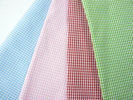コットン生地 ギンガムチェック(10cm) グラニーバック ソーイング コスプレ 洋裁 舞台衣装