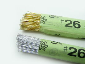 ワイヤー#26金 銀 72cm(200本) 花材 針金 アートフラワー(造花)の茎やブーケやコサージュを引き締める