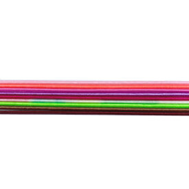 水引 アクセサリー 材料 お試しセット 全色1本ずつ 新色 絹巻き パステル調9色 (9本1セット)
