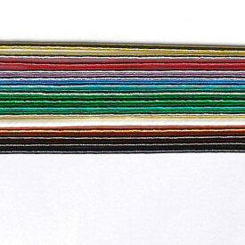 水引 アクセサリー 材料 お試しセット 全色1本ずつ 光15色 (15本1セット)