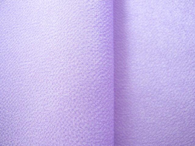 ちりめん 生地 一越 無地 うす青紫242 10cm 【髪飾りやつまみ細工に】 レーヨン 縮緬 はぎれ 和布