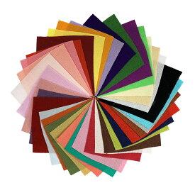 ちりめん はぎれ セット 一越 無地 30枚 10cm×10cm (小さいサイズ) 色の一覧表付き 髪飾りやつまみ細工に レーヨン 縮緬 生地 和布
