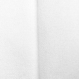 ちりめん 生地 一越 無地 白 10cm 髪飾りやつまみ細工に レーヨン 縮緬 はぎれ 和布