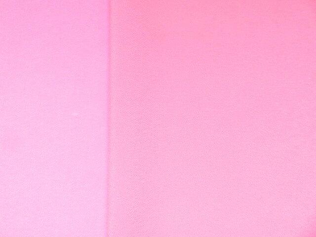 ちりめん 生地 一越 無地 ピンク9 【髪飾りやつまみ細工に】 レーヨン 縮緬 はぎれ 和布