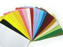 ちりめん生地無地・お買い得◆ちりめんはぎれセット無地全色40枚(約9cm×約16cm)