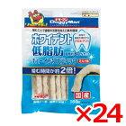 【正規品】ドギーマンホワイデント低脂肪チューイングスティックミルク味160g×24(s6020004)
