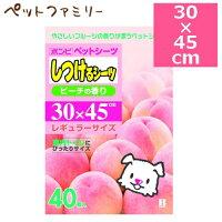 【正規品】ボンビアルコンしつけるシーツピーチの香り40枚入