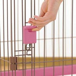 リッチェルペット用お掃除簡単サークル90-60屋根面セットピンク(92509004)●