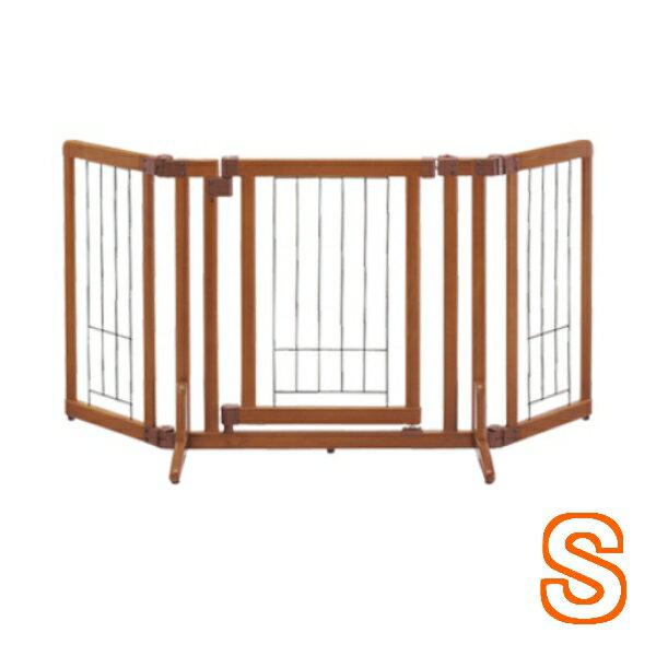 リッチェルペット用木製おくだけドア付ゲートSブラウン (92500018)●