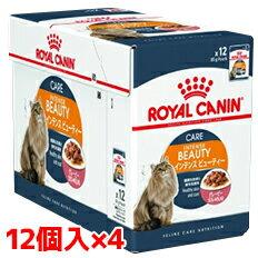 ロイヤルカナン FCN-WET インテンスビューティ美しい被毛を維持したい成猫用 85g1ケース(85g×48個)(52909976)