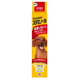 アース 栄養補給ペースト スタミノール 犬用 100g サプリメント 健康維持 夏バテ対策 (66107000)