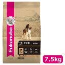 【正規品】ユーカヌバ パピー ラム&ライス 子犬用 全犬種用 〜12ヶ月まで 7.5kg (10100149)●