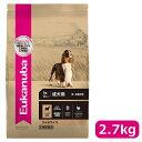 【正規品】ユーカヌバ アダルト ラム&ライス 成犬用 中・大型犬用 1歳以上 2.7kg (10100222)