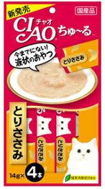 いなば CIAO ちゅ〜る とりささみ味 14g 4本入り (12600102)