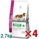 【正規品】【送料無料】ユーカヌバ EUK 室内成犬用全犬種用 小粒 2.7kg× 4(s1010000)●