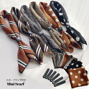 スカーフ ミニスカーフ 小さい プチスカーフ 正方形 ハンカチ ギフト レディース メンズ ユニセックス ドット グレン…