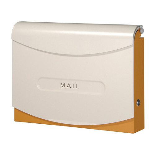 【送料無料】 フィオーリ(オレンジ) NA1-PF02O ※※ オンリーワン シンプル かわいい デザイン 郵便ポスト 郵便受け 新築 祝い 戸建て リフォーム ※※