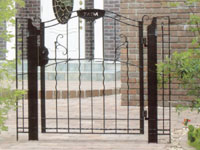 Are Gate Type 2 Large One Way Column Specifications ☆ Deeds Garden Gate  Cheap Gate Aluminum Castings Gates Design Wrought Iron Style Gates