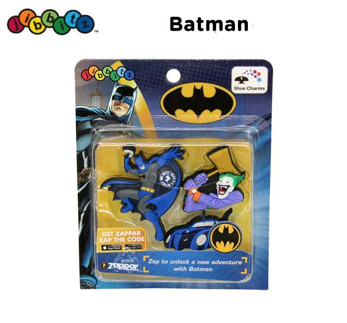【クロックス jibbitz ジビッツ】zappar Batman/バットマン