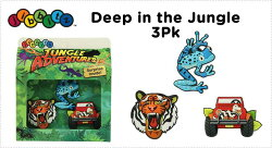 jibbitz【ジビッツ】Deep_in_the_jungle_3pack