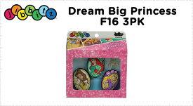【クロックス jibbitz ジビッツ】Drem Big Princess F16 3PkドリームビッグプリンセスF16 3Pk