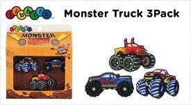 【クロックス jibbitz ジビッツ】Monster Truck 3Pack/モンスター トラック
