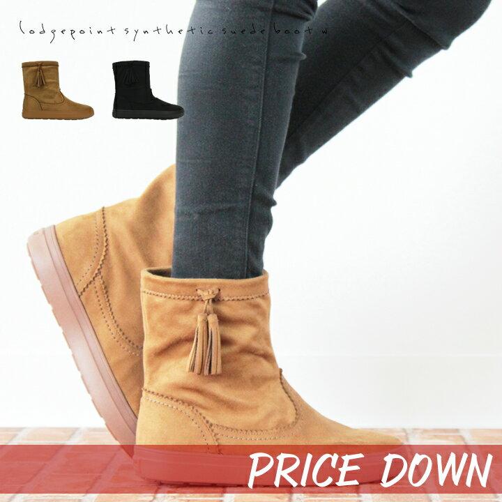 【クロックス crocs レディース b】 lodgepoint synthetic suede boot/ロッジポイント シンセティックスエード ブーツ ウィメン