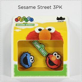【クロックス jibbitz ジビッツ】sesame street F16 3PK/セサミストリート(face)