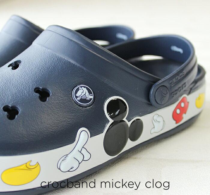 【クロックス crocs 】 crocband mickey clogクロックバンド ミッキー クロッグ