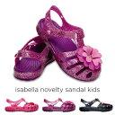 crocs【クロックス】isabella novelty sandal kids/イザベラ ノベルティ サンダル キッズ