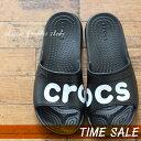 crocs【クロックス】classic graphic slide/クラシック グラフィック スライド