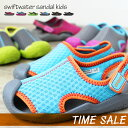 crocs【クロックス キッズ】swiftwater sandal kids/スウィフトウォーター サンダル キッズ