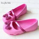 【クロックス crocs 】 lina flat kids/リナ フラット キッズ