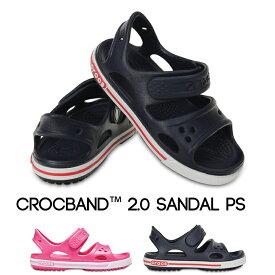 【クロックス crocs キッズ】crocband2.0 sandal ps/クロックバンド2.0 サンダル☆★☆