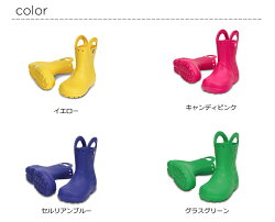 crocs【クロックスキッズ】handleitrainbootkids/ハンドルイットレインブーツキッズ