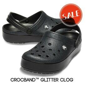 【クロックス crocs 】crocband glitter clog/クロックバンド グリッター クロッグ/メンズ レディース☆★☆