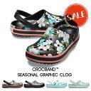 ◇【クロックス crocs 】crocband seasonal graphic clog/クロックバンド シーズナル グラフィック クロッグ/メンズ レディース