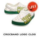 ●【クロックス crocs メンズ レディース】crocband logo clog/クロックバンド ロゴ クロッグ