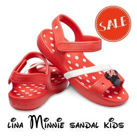 【クロックス crocs キッズ】lina minnie sandal kids/リナ ミニー サンダル キッズ☆★☆