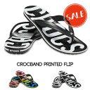 【クロックス crocs 】crocband printed flip/クロックバンド プリンテッド フリップ/メンズ レディース