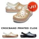 ◇【クロックス crocs 】crocband printed clog/クロックバンド プリンテッド クロッグ/メンズ レディース