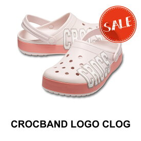 ●【クロックス crocs 】crocband logo clog/クロックバンド ロゴ クロッグ/メンズ レディース