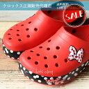 ●【クロックス crocs 】crocband minnie Dots clog/クロックバンド ミニー ドット クロッグ/メンズ レディース